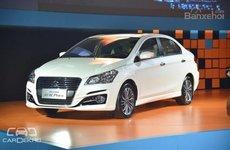 Suzuki Ciaz facelift được giới thiệu tại triển lãm Thành Đô, Trung Quốc
