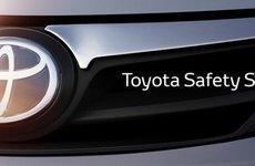 Toyota Safety Senseai giúp giảm tới 90% va chạm phía sau xe
