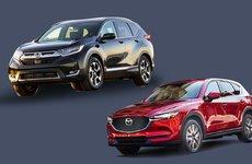 Cùng giảm xuống dưới 800 triệu, nên chọn Honda CR-V 2017 hay Mazda CX-5 2017?