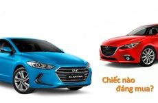 Đang bão giá, 650 triệu đồng mua ô tô sedan Mazda3 2.0 hay Hyundai Elantra 2.0 AT?