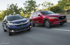 So sánh xe Mazda CX-5 2017 và Honda CR-V 2017 thế hệ mới: Ngang sức, ngang tài, ngang tiền