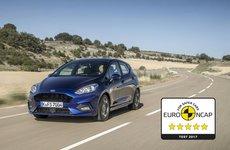 Ford Fiesta 2017 thế hệ mới an toàn tuyệt đối với 5 sao từ Euro NCAP