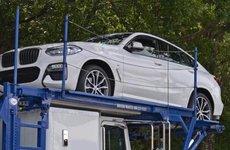 BMW X4 2018 'khoe thân' đầy đủ trên đường vận chuyển