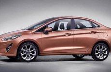 Ford Fiesta sedan 2018 lộ kế hoạch ra mắt