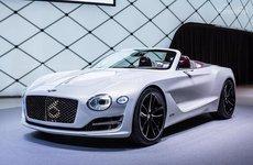 Xe điện đầu tiên của Bentley là xe mui trần 2 cửa