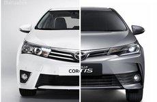 So sánh Toyota Corolla Altis cũ và mới