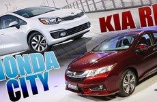 Tầm 600 triệu, nên chọn Honda City hay Kia Rio?