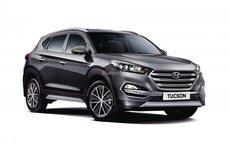 Hyundai Tucson SUV ra mắt biến thể hệ dẫn động 4 bánh bán thời gian