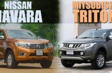 Nissan Navara và Mitsubishi Triton, bán tải nào tốt hơn?