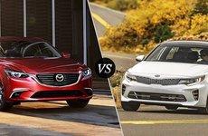 Mazda6 giá 999 triệu và Kia Optima giá 969 triệu: Chọn xe nào?