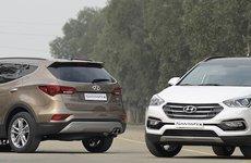 Hyundai Santa Fe thiết lập giá sốc khi giảm 230 triệu đồng, quyết đấu Toyota Fortuner
