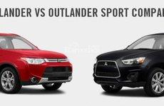 So sánh thông số của Mitsubishi Outlander và Mitsubishi Outlander Sport