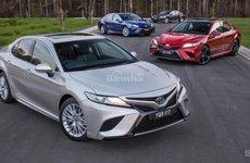 Toyota Camry 2018 thế hệ mới ra mắt Úc, giá từ 473 triệu đồng