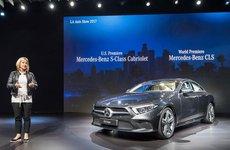 Cận cảnh Mercedes-Benz CLS 2018 có giá từ 77.000 USD