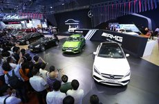 Mercedes-Benz là hãng xe sang ăn khách nhất Việt Nam năm 2017