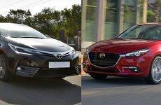 Cuộc chiến xe hạng C: Toyota Corolla Altis liệu có giữ được sức hút khi sang tháng 1/2018?