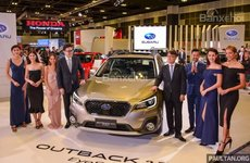 Subaru Outback facelift và XV 2.0 trình làng tại triển lãm Singapore 2018