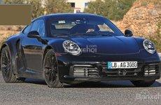 Porsche 911 Turbo thế hệ mới lần đầu tiên bị bắt gặp trên đường chạy thử