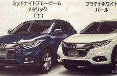 SUV cỡ nhỏ Honda HR-V 2018 facelift rò rỉ ảnh brochure