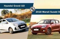 ''Cân đo'' 2 mẫu xe đô thị Suzuki Swift và Hyundai Grand i10