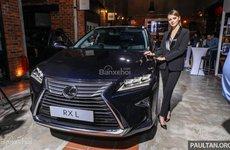 Chi tiết Lexus RX 350L 2018 bản 7 chỗ giá 2,7 tỷ đồng tại Malaysia