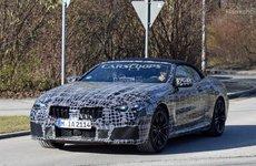 Lộ ảnh BMW M8 2019 Convertible lăn bánh trên đường chạy thử