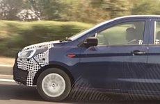 Ford Figo facelift 2018 chạy thử trên đường cao tốc trước khi ra mặt tại Auto Expo 2018