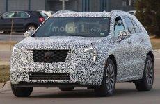 Cadillac XT4 2019 hé lộ ảnh chạy thử với nhiều thiết kế mới