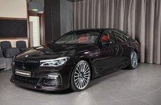 BMW 730Li gây thương nhớ với màu Ruby Black Metallic sang trọng