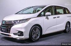 Honda Odyssey 2018 nâng cấp tại Malaysia an toàn hơn và rẻ hơn tại Việt Nam