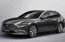 Lộ ảnh thực tế Mazda 6 Tourer 2018, ra mắt vào tháng 3/2018