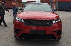 Range Rover Velar màu đỏ tươi độc nhất vô nhị cập cảng Việt Nam