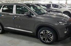 Hyundai Santa Fe 2019 tiết lộ hình ảnh thực tế đầu tiên