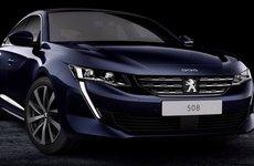 Peugeot 508 2018 hé lộ đường nét thể thao trước thềm triển lãm Geneva
