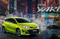 Toyota Yaris 2018 mở bán tại Indonesia, giá từ 391 triệu đồng
