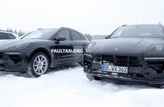 Porsche Macan 2019 bị tóm gọn khi đang thử nghiệm trong điều kiện lạnh giá