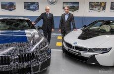 BMW 8-Series tung ảnh nhá hàng, chuẩn bị được đưa vào sản xuất
