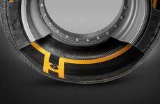 Continental sáng chế ra công nghệ lốp xe thông minh