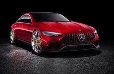Mercedes-AMG GT chính thức tung ảnh teaser trước ngày ra mắt