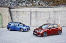 BMW 2-Series Active Tourer 2018 và Gran Tourer 2018 facelift khoe dáng tại Geneva 2018