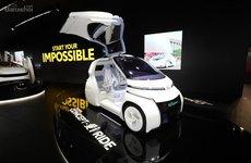 Xe điện thông minh Toyota Concept-i khoe bánh tại Geneva