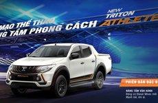 Mitsubishi Triton Athlete 2018 giá 746 triệu đồng về Việt Nam, đối đầu Ranger Wiltrak