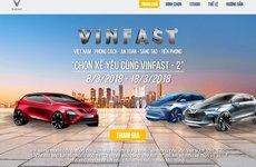 VinFast mở cuộc bình chọn xế cưng lần 2