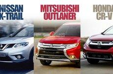 Mua crossover 7 chỗ tầm giá 1 tỷ đồng: Chọn CR-V, X-Trail hay Outlander?