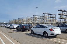 Lô ô tô Honda mới về nước vẫn chưa thể mở bán do thiếu kết quả kiểm định