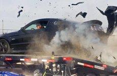 Cách xử lý khi ô tô nổ lốp giữa đường