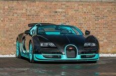 Chiêm ngưỡng Bugatti Veyron Tiffany Edition xanh ngọc bích có 102 trên thế giới