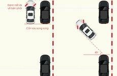 6 bước đơn giản giúp lái xe ghép ô tô vào đúng nơi đỗ