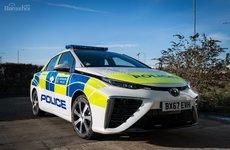 Toyota Mirai đến tay cảnh sát London