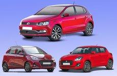 So sánh thông số Volkswagen Polo, Suzuki Swift và Hyundai Grand i10 2018